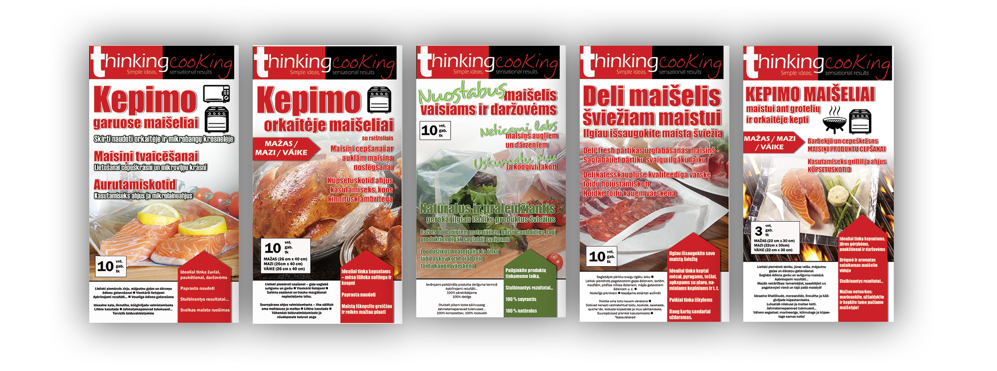 Sirane's Thinking-Cooking range is now available in Lithuania, Latvia and Estonia