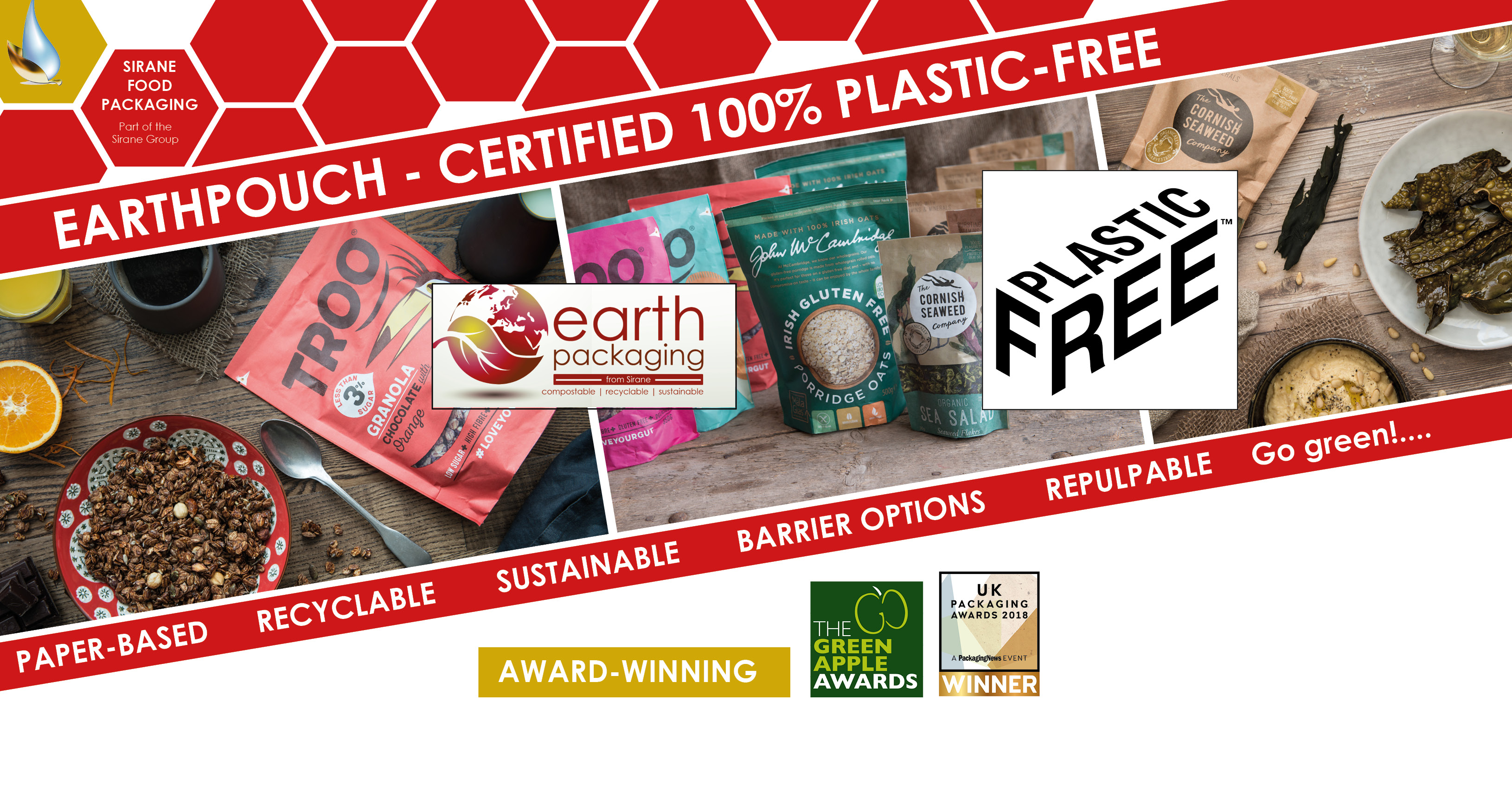 Plastic Free - trust mark from APP