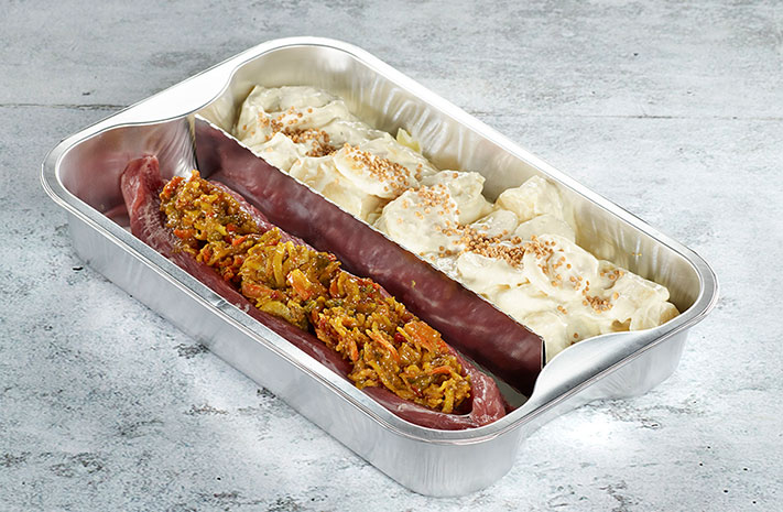Ovenable dividers