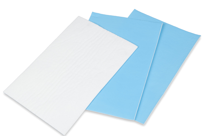 emergency absorbent spillage control pads