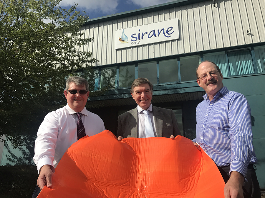 Minister of State for Health Philip Dunne during a visit to Sirane