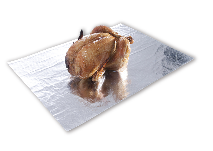 Rotisserie Liner - absorbent liners for hot-food display