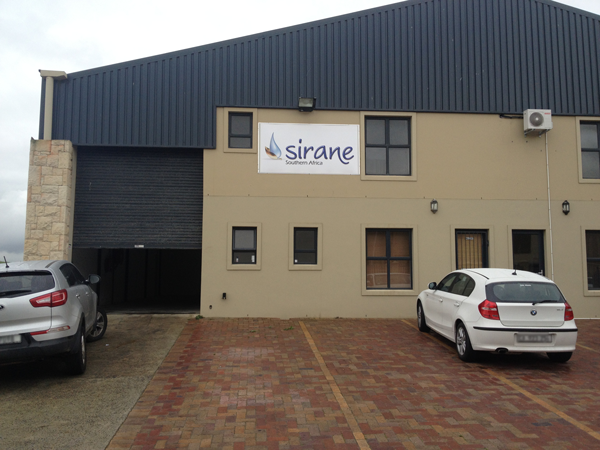 Sirane Southern Africa's new office and warehousing