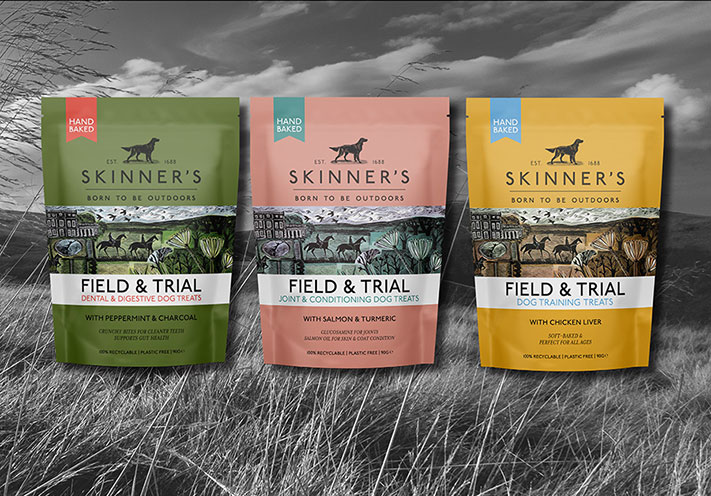 Earthpouch - Skinner's chose our plastic-free pouch for their new dog treats range