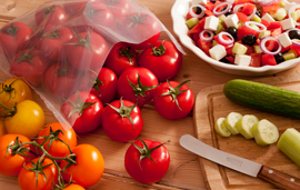 Sira-Flex Resolve packaging film can increase the shelf-life of tomatoes